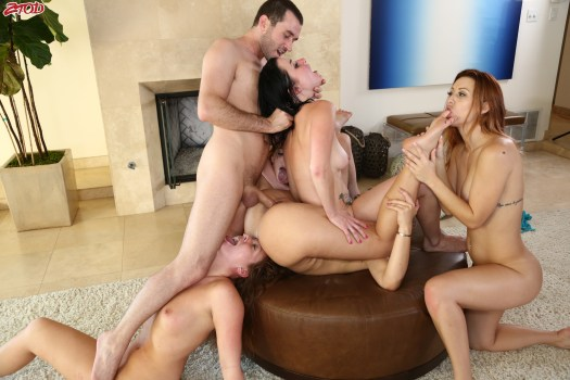 Dani Daniels+Karlie Montana+Penny Pax+Maddy Oreilly+Veruca James - King James 3
