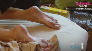 Maryse Total Divas feet soles
