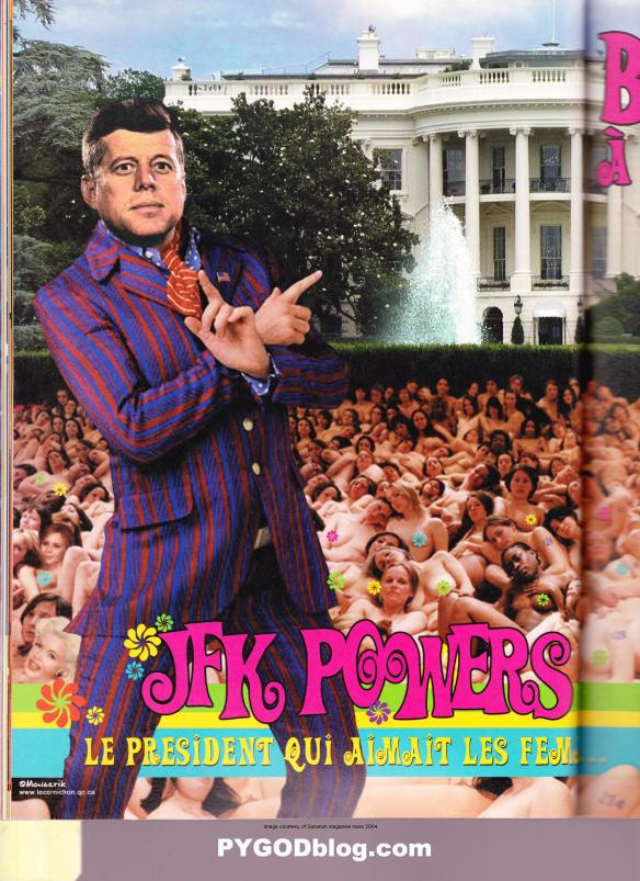 President JFK Kennedy Austin Powers womanizer