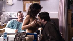 Naked Emily Clarke (24 years) in Rise of the Footsoldier (2007) In this scene Emily Clarke was 24 years cocaine hospital