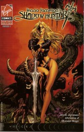 Jenna Jameson comics Shadow Hunter virgin