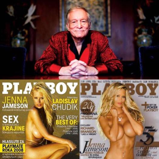 Jenna Jameson in Playboy Hugh Hefner