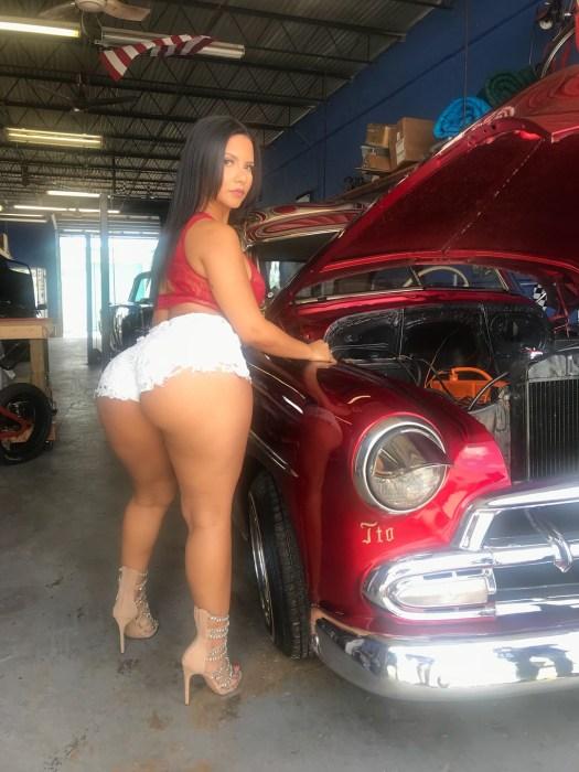 Rose Monroe big ass Latina porn star