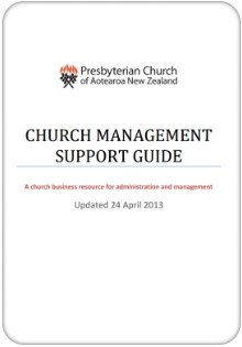 church management support guide badge