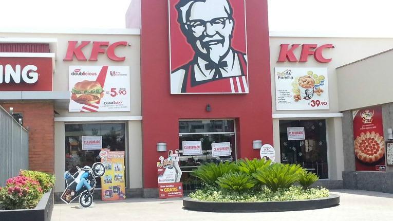 tiendas KFC