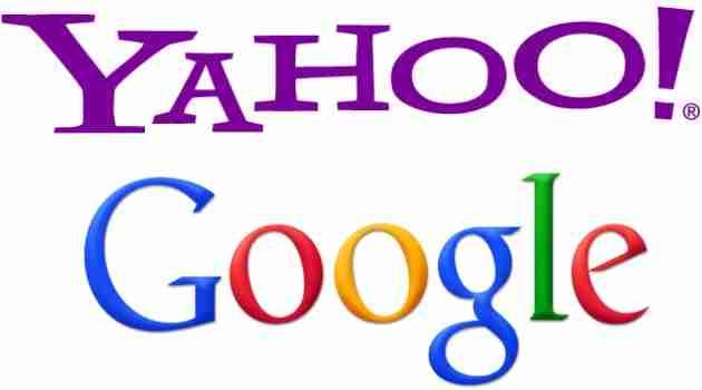Yahoo y Google