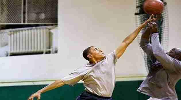 Obama baloncesto