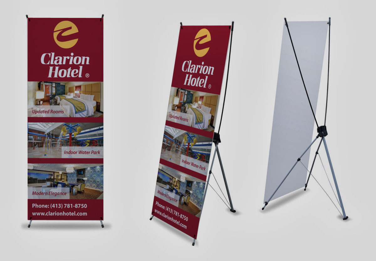 X Stand Banner Printing By Affordable Local Printer In