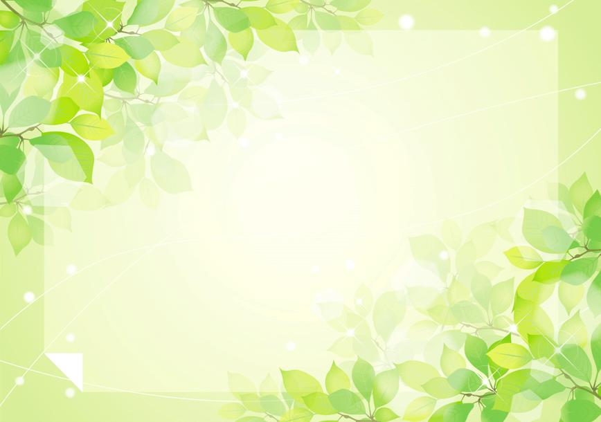 新緑のフレーム(春風、手紙、若葉、木漏れ日、新緑、飾り枠、黄緑、素材、光、フレーム、葉っぱ、日差し、森林、樹木)