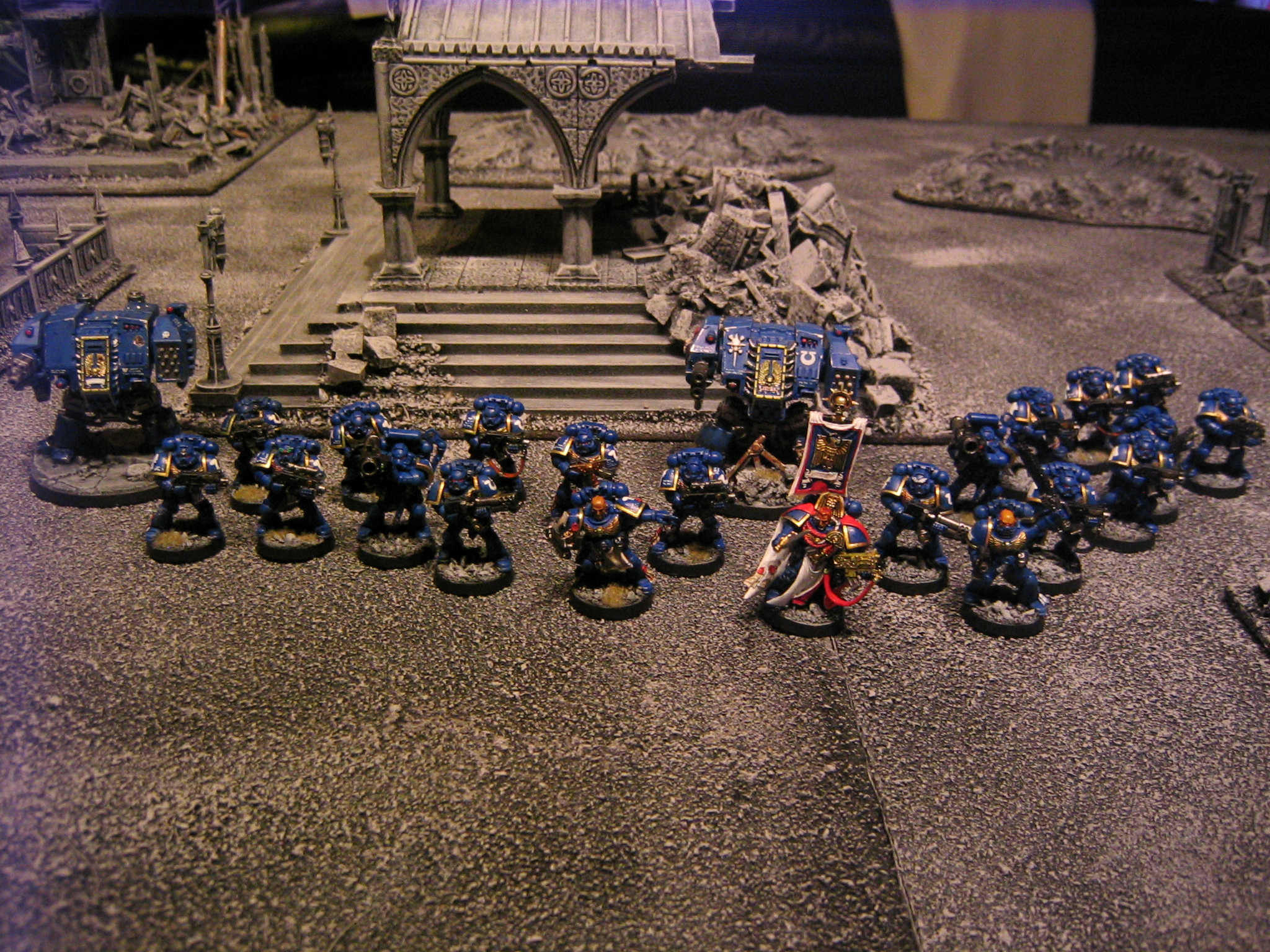 Ultramarines 2nd Company Strike Force Gamma