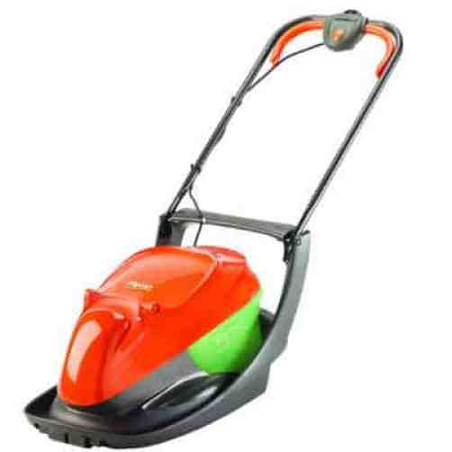 FLYMO EASI GLIDE 330VX - Great choice for small and medium sized gardens. It has a more powerful motor, a wider cutting width and the collection box with a viewing window so you can see when it is full. Great for small and medium gardens, mowing never been so much fun.