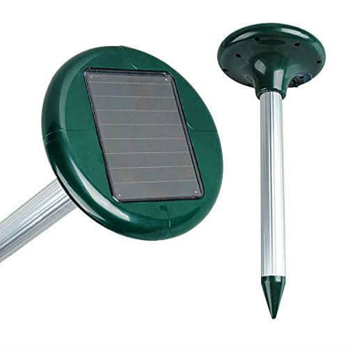 Drillpro Solar Sonic Mole Repeller