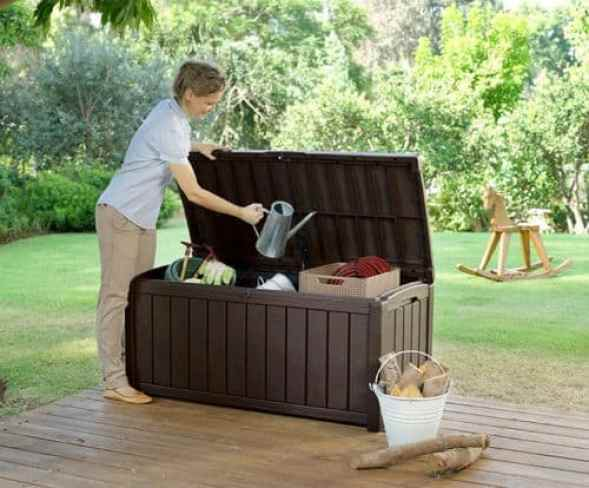 Keter Glenwood Outdoor Plastic Storage Box Review