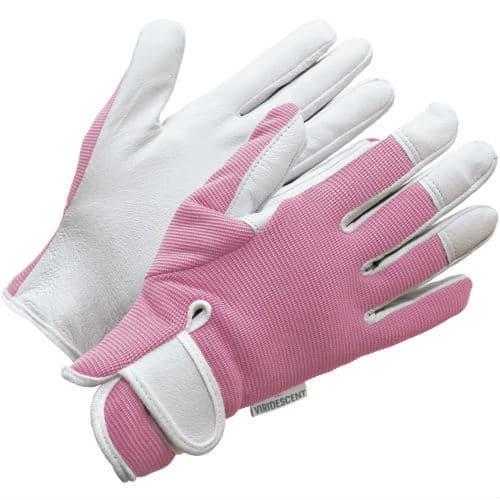 These high quality gardening gloves by Viridecent are beautifully designed for a ladies fit. They have versatile uses and can be used for outside garden chores. They are surprisingly good at keeping thorns out, something we originally though they would be useless with but we have been proven wrong. The reviews on Amazon confirm how happy people are with the quality and protection they offer.