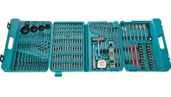 The Makita P-44046 Drill Bit Set is for you. However, we recommend spraying the complete set with rust prevention to keep them in good shape as there are tools that you might never use.  The bits are made of tough steel so at least you can be somehow sure they won't break when drilling.