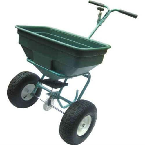 Neilsen 59KG (130LB) WALK BEHIND SPREADER REVIEW