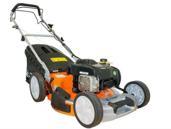 The Tiger TM5120SP Self Propelled Petrol Lawn Mower is a great alternative to our 'Best Pick' and has the same cutting width, probably as much power and is a similar size, however it is a fair bit cheaper and probably not to the same standard although it is excellent for the price.
