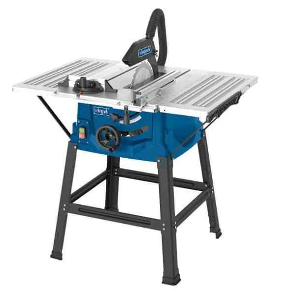 To sum up, the Scheppach HS100S Table Top Saw Bench is a great choice for anyone looking for a good quality table saw combined with the ability to cut larger work pieces if needed but ideal for more smaller work pieces and smaller panels.