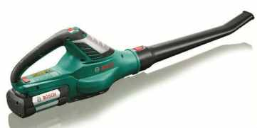 Bosch ALB 36 LI Cordless 36 V Lithium Ion Leaf Blower Review