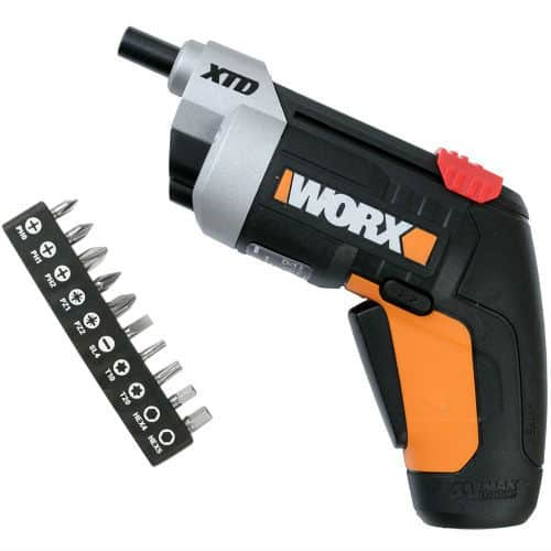 Best Cordless Electric Screwdriver pick - WORX WX252 4 V XTD Extended Reach Cordless Screwdriver Review