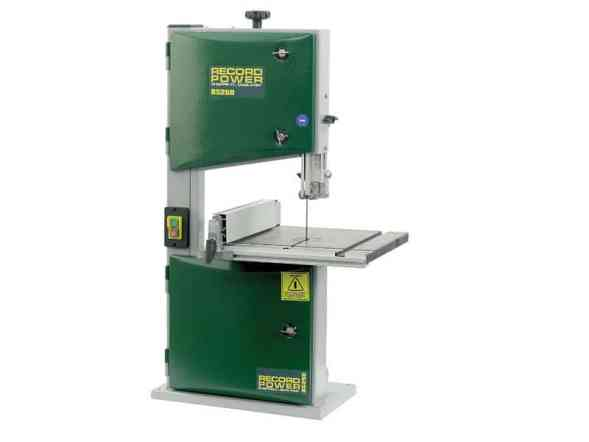 Record Power BS250 Benchtop Bandsaw Review