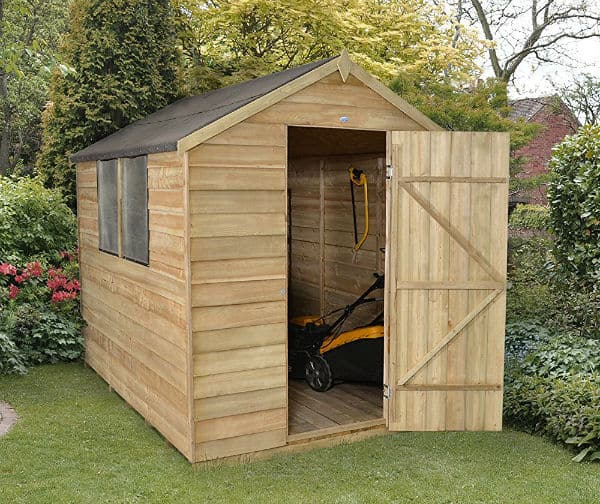 Forest Garden 8x6 Apex Overlap Garden Shed Review