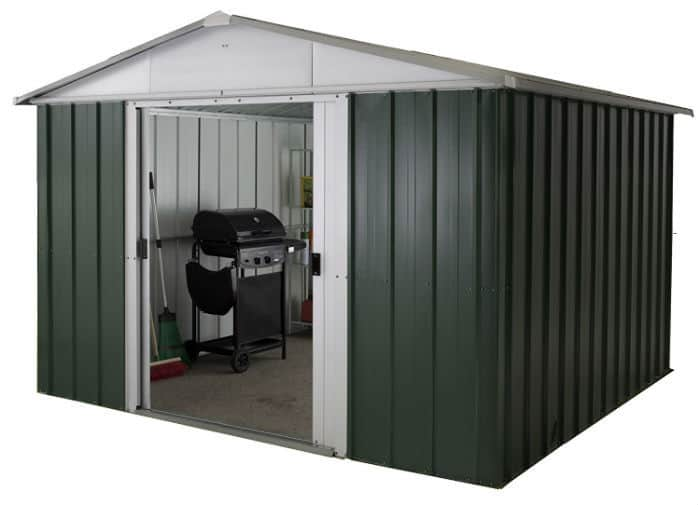 Yardmaster International 1013GEYZ 10 x 13ft Deluxe Metal Shed Review