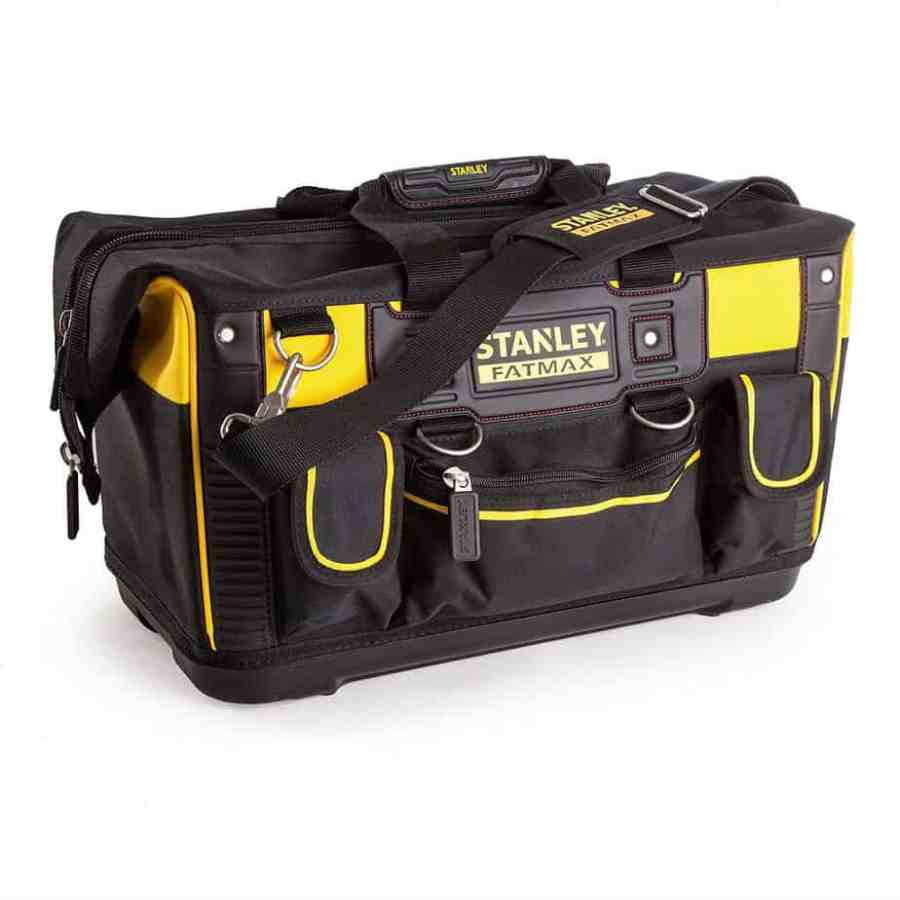 Stanley FMST1-71180 FatMax Open Mouth Rigid Tool Bag Review