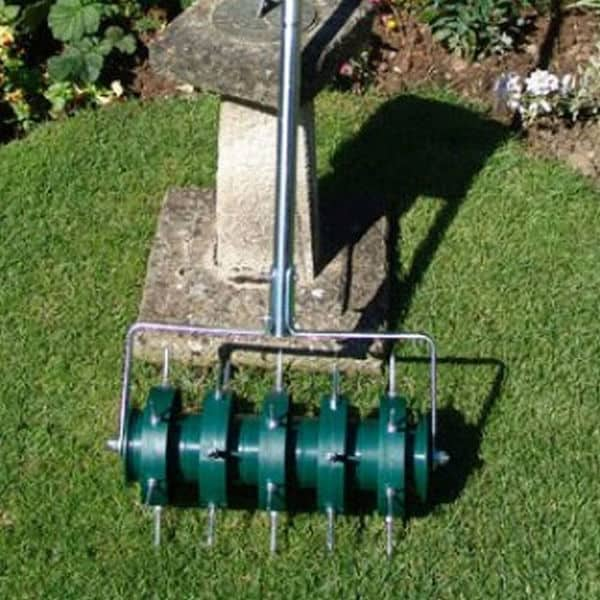 Greenkey 30cm Rolling Lawn Aerator Review
