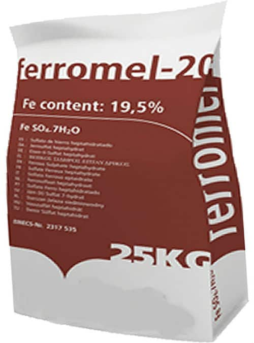 Ferromel 20 Iron Sulphate 25KG PREMIUM Lawn Conditioner & Lawn Feed Review