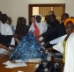 Sénégal: community members explore sustainable livelihoods with Pyramid of recycled plastic
