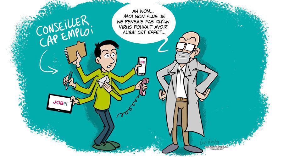 La Mutation des conseillers Cap Emploi
