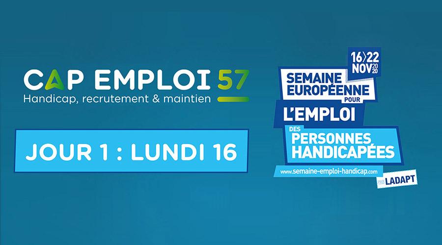 La Semaine Européenne pour l'Emploi des Personnes Handicapée : JOUR 1