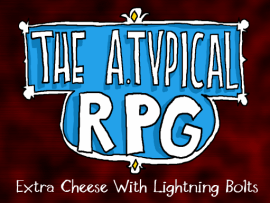 Pre-order the A.Typical RPG Extra Cheese with Lightning Bolts Edition on Desura!