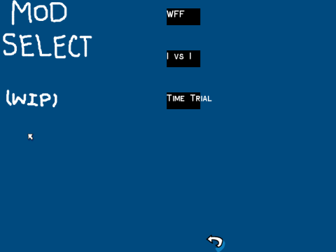 Mod Select Screen for Will Fight for Food