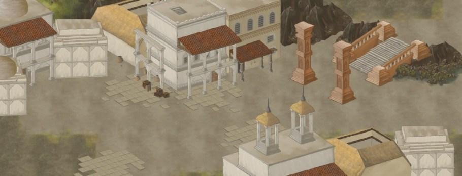 WIP Level near the grand temple