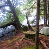camp at square