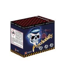 Psychobilly Feuerwerksbatterie online kaufen im Pyrographics Feuerwerkshop