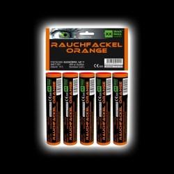 5er Pack Rauchfackeln Orange von Blackboxx Feuerwerk /Firework- Feuerwerk online kaufen im Pyrographics Feuerwerkshop