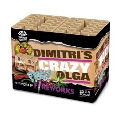 Feuerwerk online kaufen, Crazy Fireworks Dimitris & Crazy Olga XXL Batteriefeuerwerk