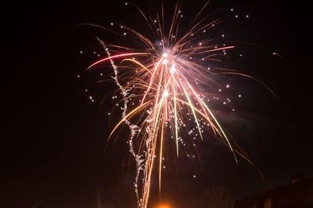 Fare fuochi d'artificio