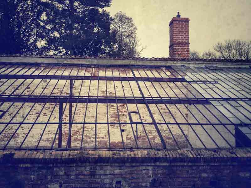 """Ein Kommentar zum Foto """"Die alte Gärtnerei"""" hat meine Überlegungen zu Flickr angestoßen."""