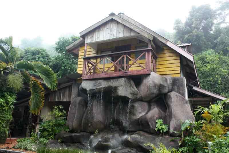 Das Atelier des Malers Egbert Marday auf Mahé (Seychellen)