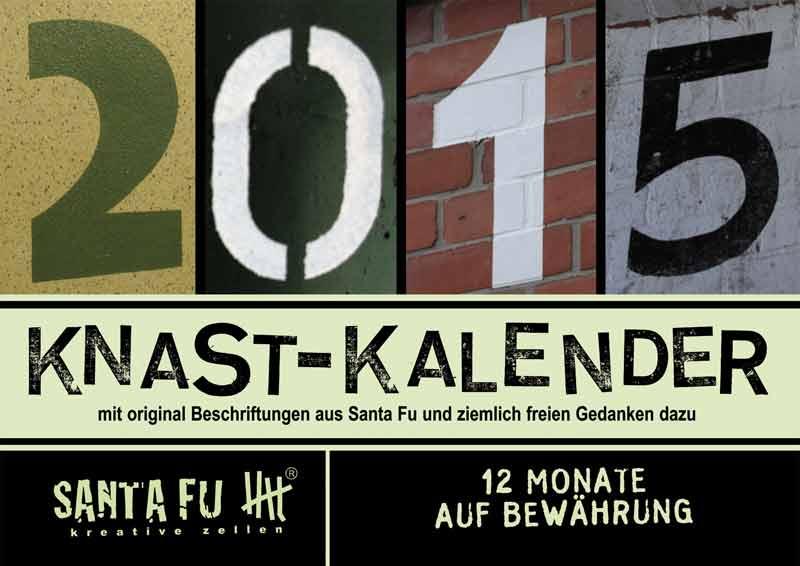 """Der Knast-Kalender """"12 Monate auf Bewährung"""" ist für 9,90 Euro zu haben."""