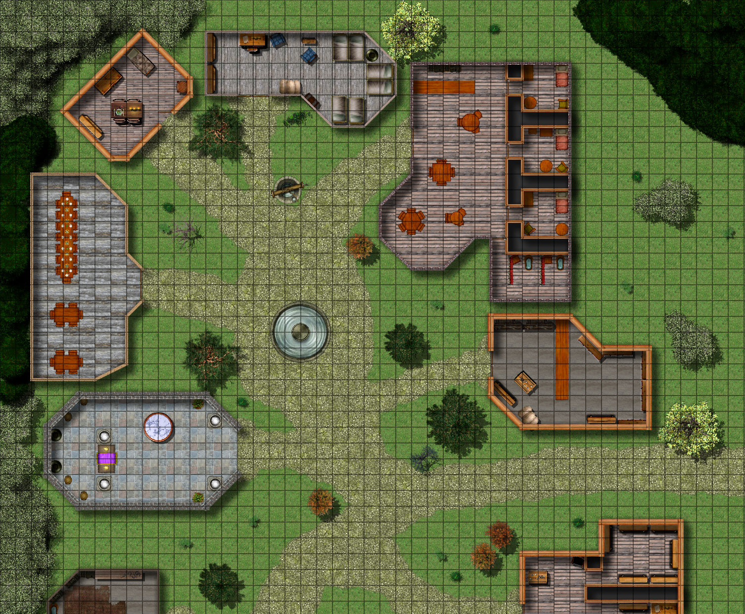 Dungeon maps for RPG Create maps online download as PDF