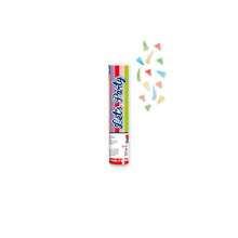 tubo spara coriandoli 21 cm multicolor