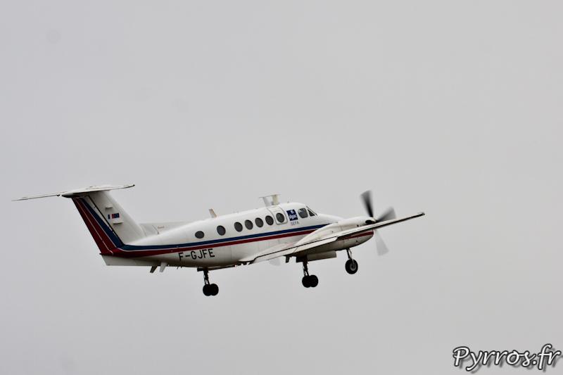 Beech B200 Super King Air de la DGAC à Airexpo2012
