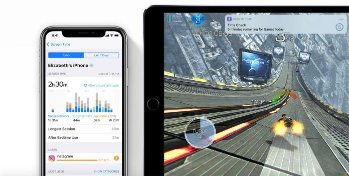 iOS 12 fecha de lanzamiento y nuevas características: tiempo frente la pantalla