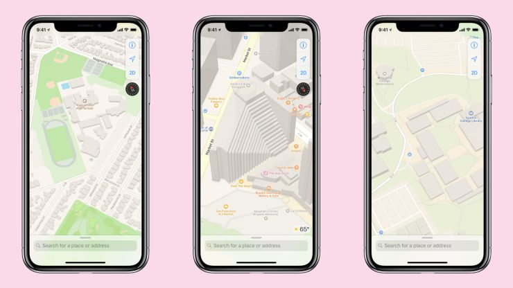iOS 12 fecha de lanzamiento y nuevas características: Mapas