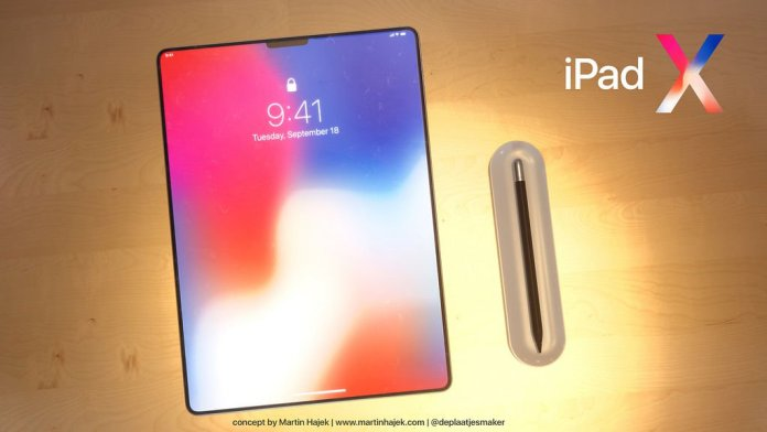 el Nuevo iPad Pro de 2018, fecha de lanzamiento, precio y especificaciones: Concepto de ilustración por Martin Hajek